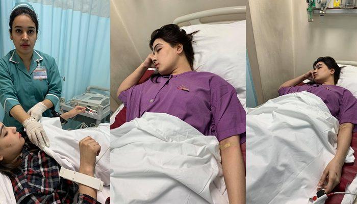 mahiya mahi sick